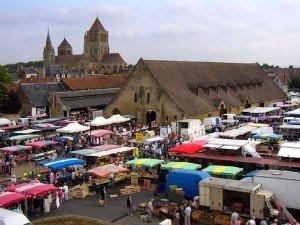 St Pierre sur Dives market