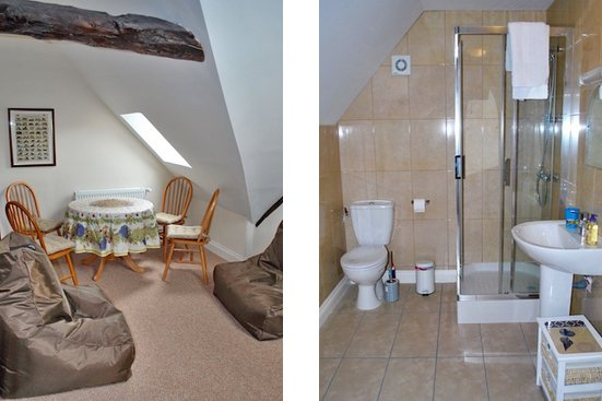 mezzanine floor living and ensuite